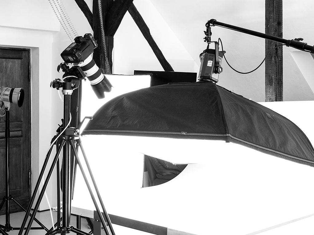 professionelles Lichtequipment, Dayligtstudio Berlin, Foto